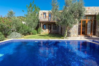 2 bedroom islamic honeymoon villa in Kayakoy Turkey