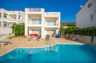 4 bedroom villa for rent in kalkan with great sea and bay view