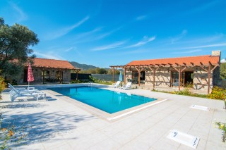 Villa Gizem is a 3 bed stone villa with private garden and pool