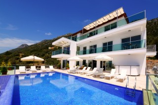 7 bedroom luxury villa for rent in kalkan