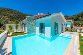 two bedroom villa with private pool in Oludeniz