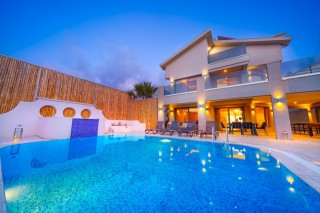 A luxury 4 bedroom villa in Ovacik with private swimming pool