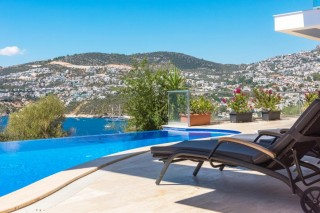 6 bedroom luxury villa with sea views and private pool in Kalkan