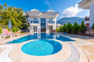 4 bedroom villa in Hisaronu with private pool and child pool