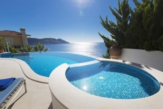 5 bedroom luxury villa in Kas with secluded pool and sea views
