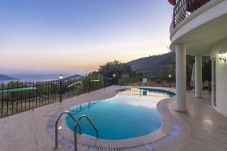 3 bedroom villa in Kalkan with sea views and private pool