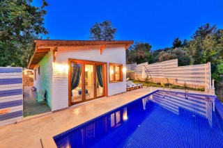 2 bedroom villa in Islamlar village, Kalkan, with private pool