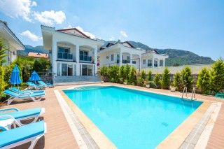 5 bedroom villa in Ovacik sleeps 10 people with private pool