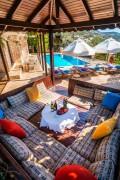 6 bedroom luxury villa in Kalkan sleeps 11 people with sea views