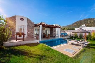 2 bedroom luxury villa for rent in Kayakoy