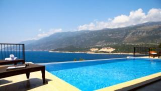Villa Kagan 3, 4 bedroom villa in kas with panaromic view of sea