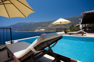 Luxury 3 bedroom villa for rent in Kas with private pool