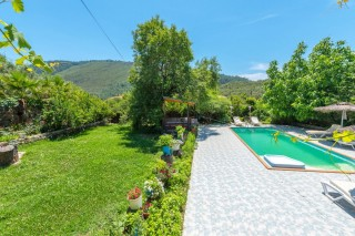 6 bedroom villa with secluded pool and garden in Kayakoy