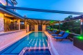 Two bedroom luxury villa with secluded and covered swimming pool