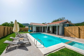 2 bedroom luxury secluded villa in Kayakoy