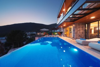 4 bedroom luxury villa in Kalkan with sea view