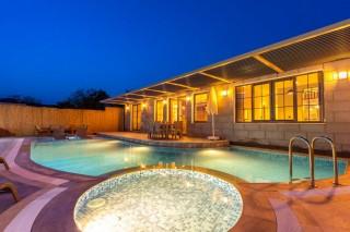 Secluded luxury villa with pool in Kayakoy sleeps 4 people
