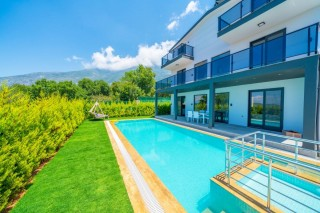 3 bed luxury secluded villa in Ovacik with indoor heated pool