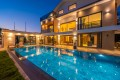 Luxury and modern villa with secluded outdoor and indoor pool